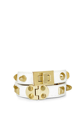 Multi-Stud Turnlock Bracelet