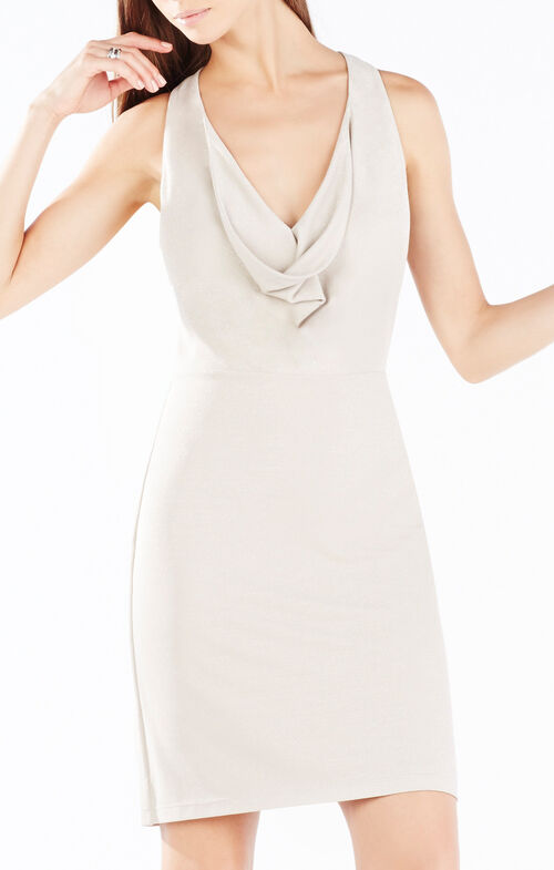 Oriele Twist-Back Dress