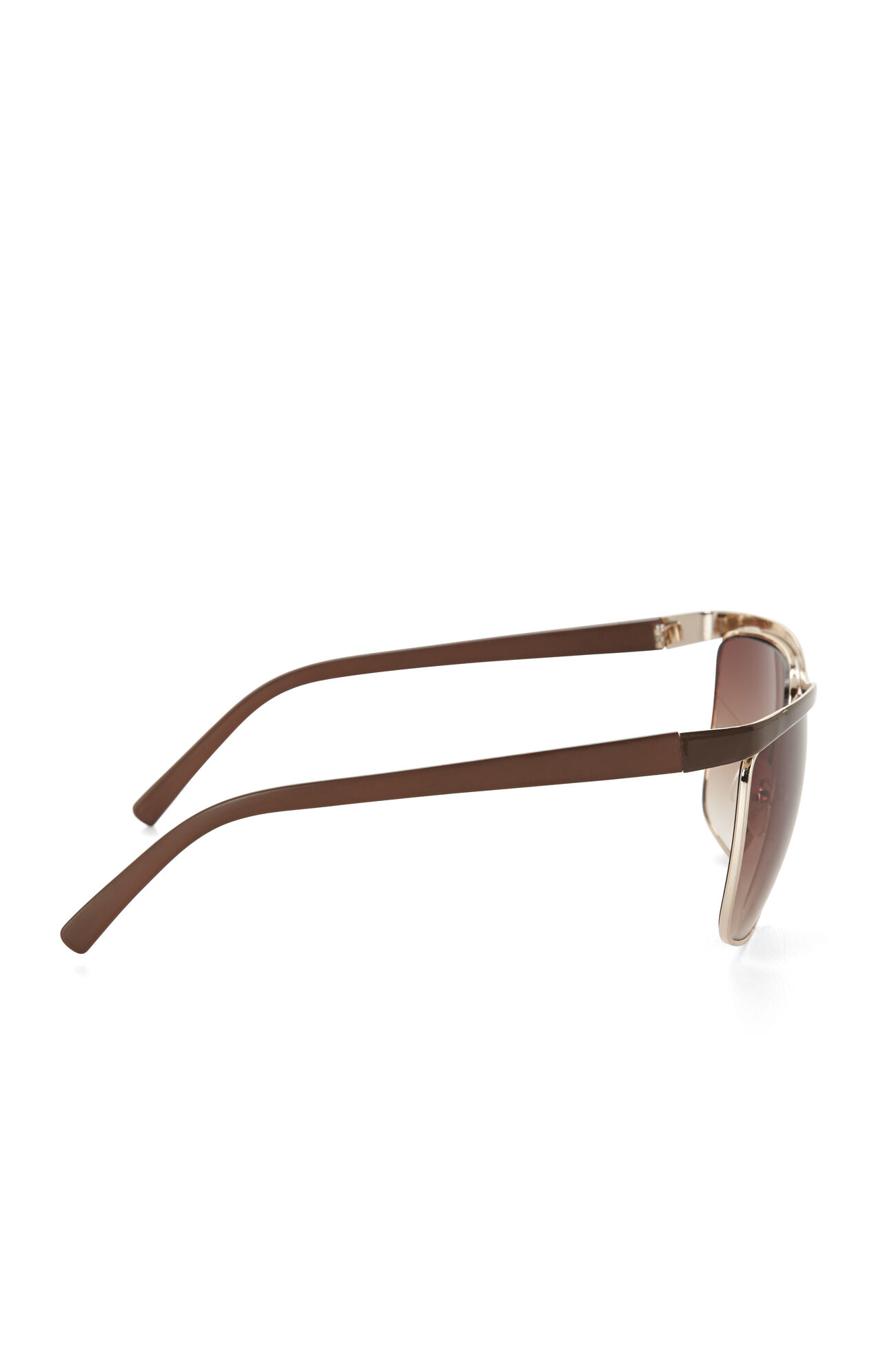 Squared Aviator Sunglasses