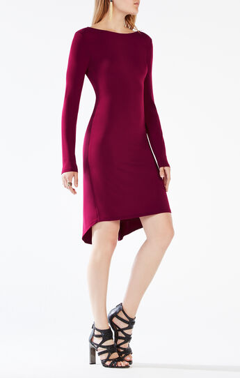 Celia Open-Back Jersey Dress