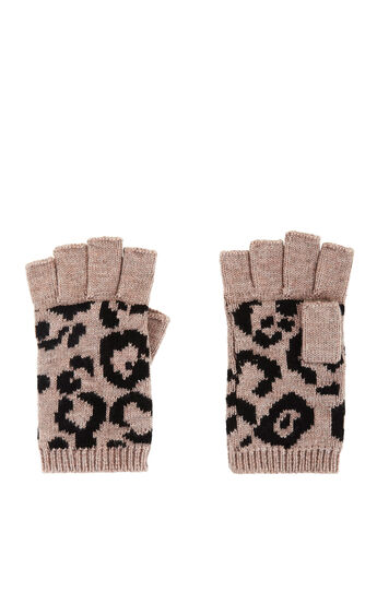 Cheetah Fingerless Gloves
