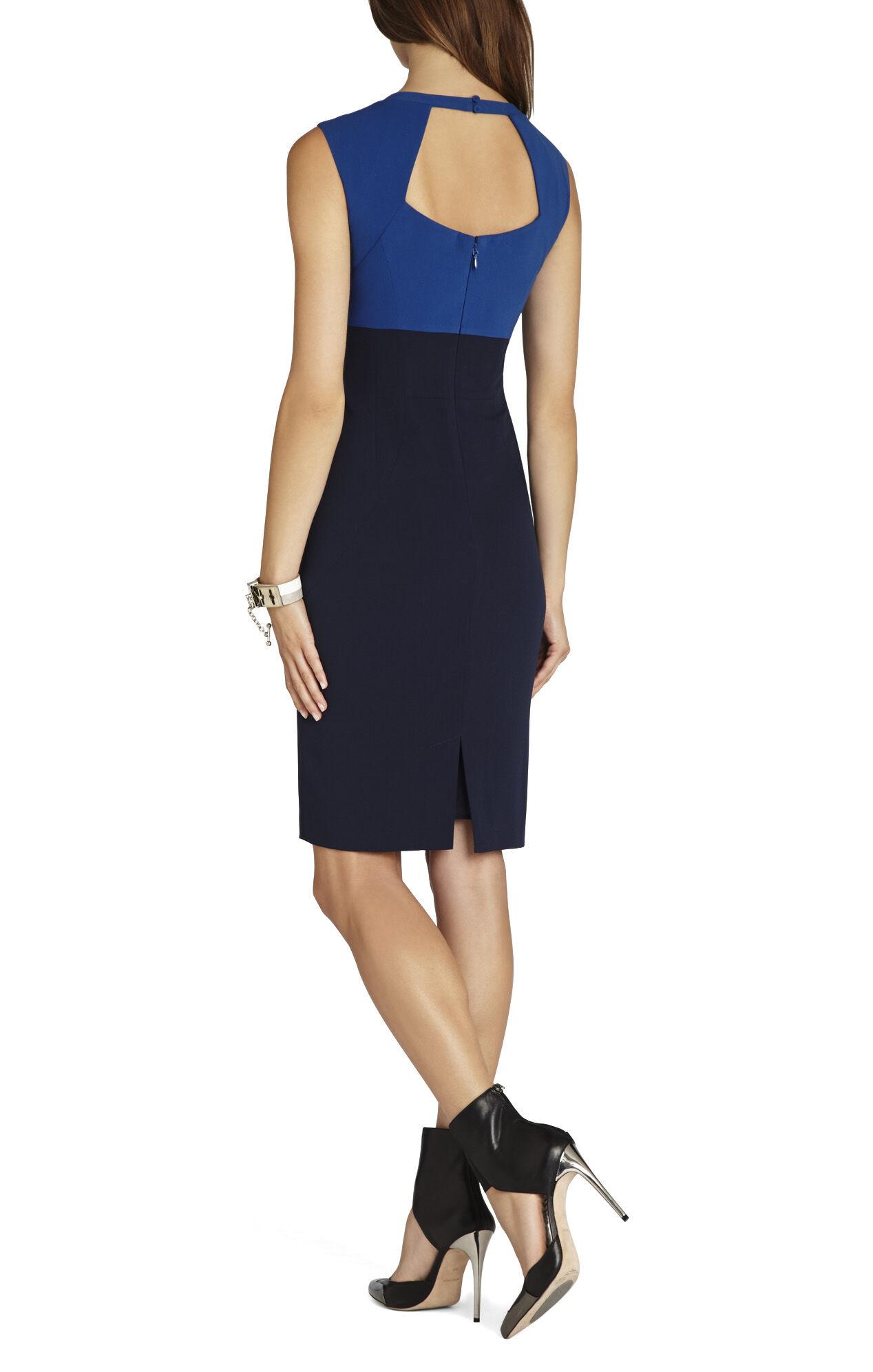 Clara Color-Blocked Sheath Dress