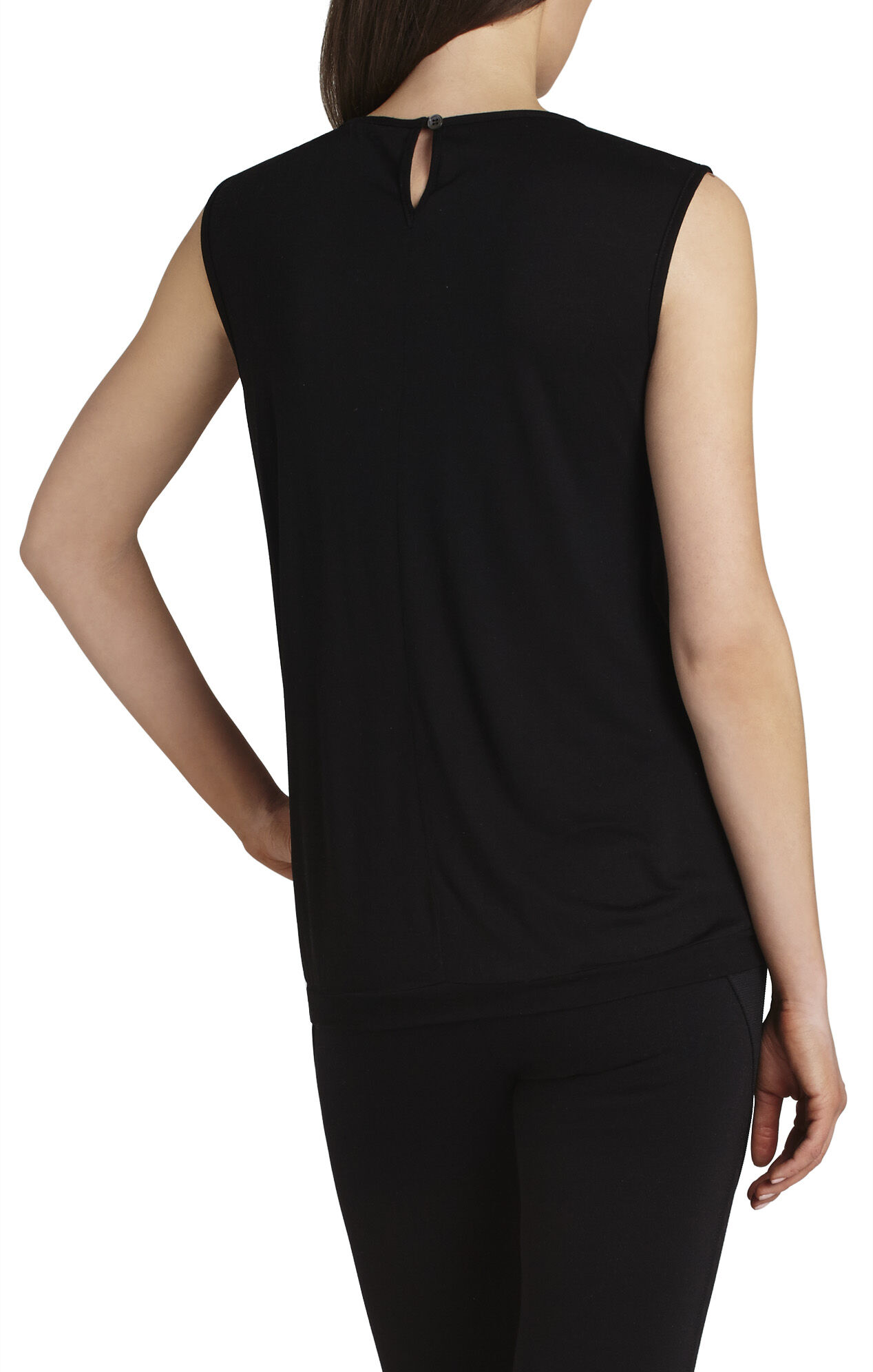 Alessandra Draped-Front Top