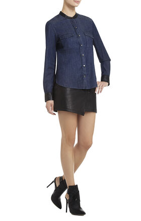 Hadley Blocked Long-Sleeve Shirt