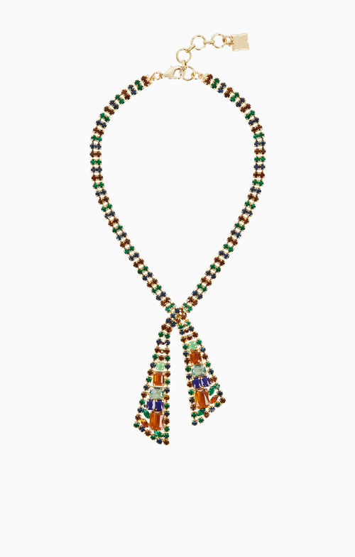 Multicolored Stone Necklace