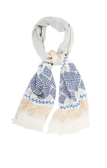 Tribal Print Wrap Scarf