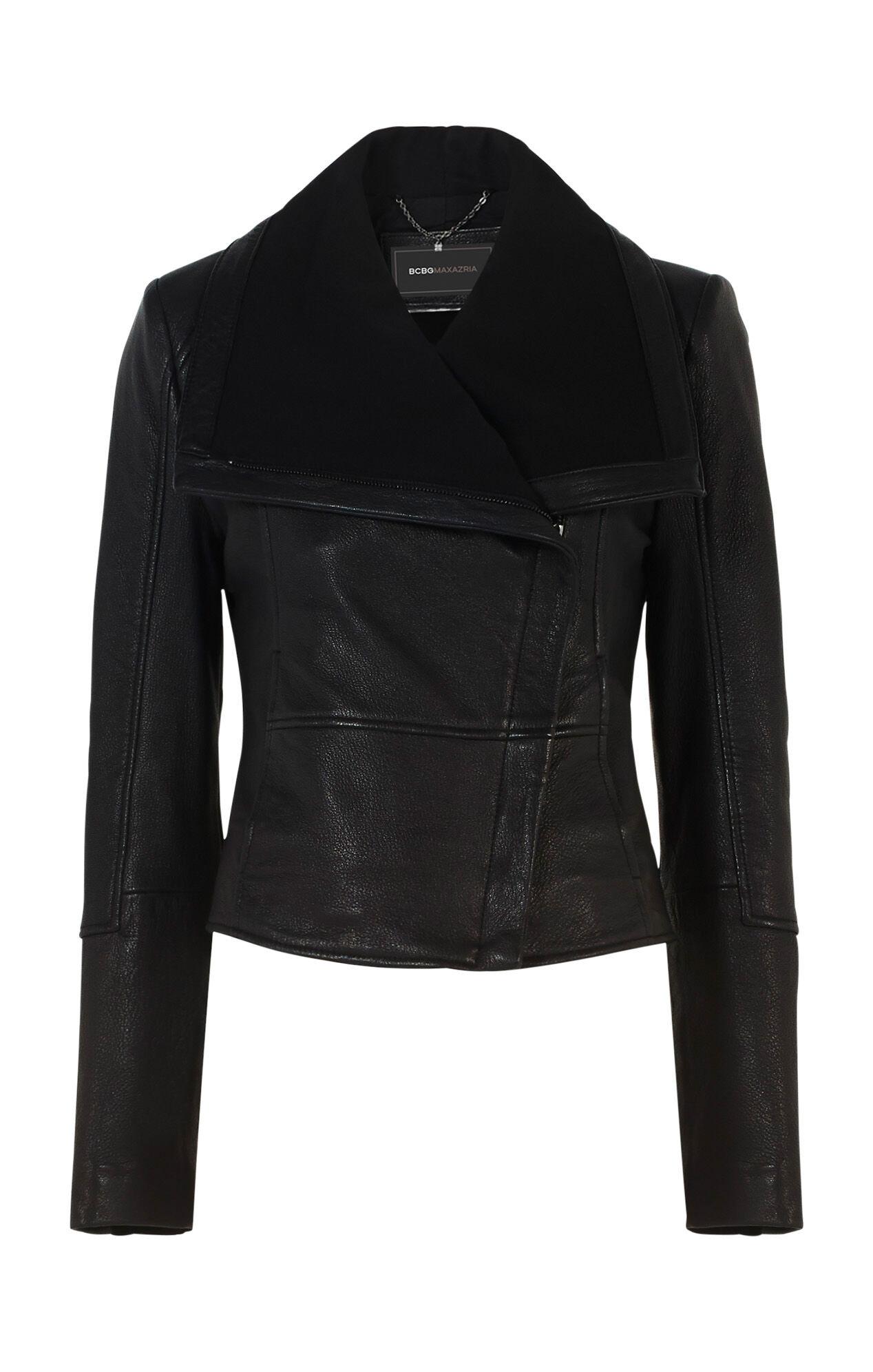 Annabel Leather Moto Jacket