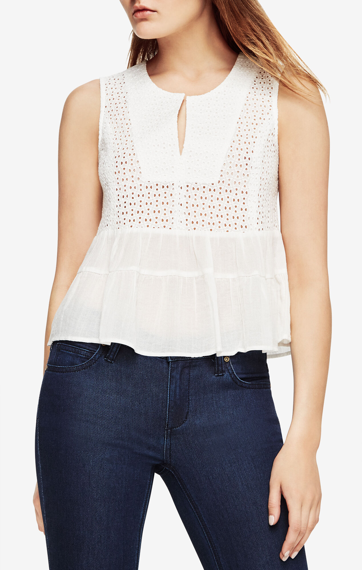 Kaylee Eyelet Top