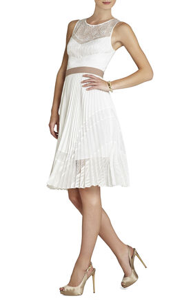 Charlotte Pleated Dress