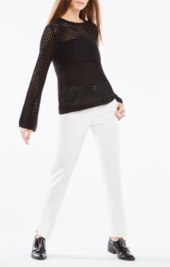 Joeli Mesh Pullover Sweater