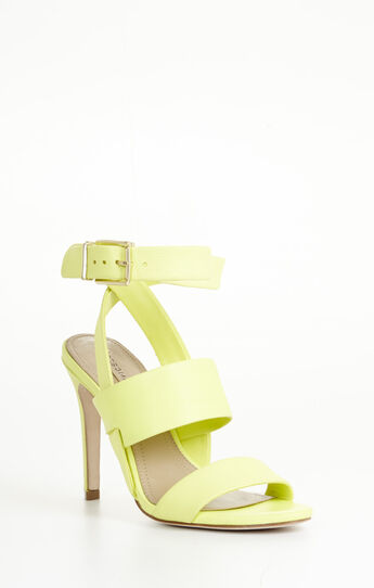 Ricky High-Heel Double-Strap Sling-Back Day Sandal