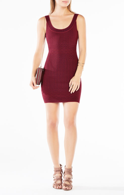 Casper Knit Jacquard Dress