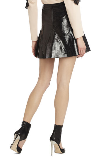 Runway Alex Leather Skirt