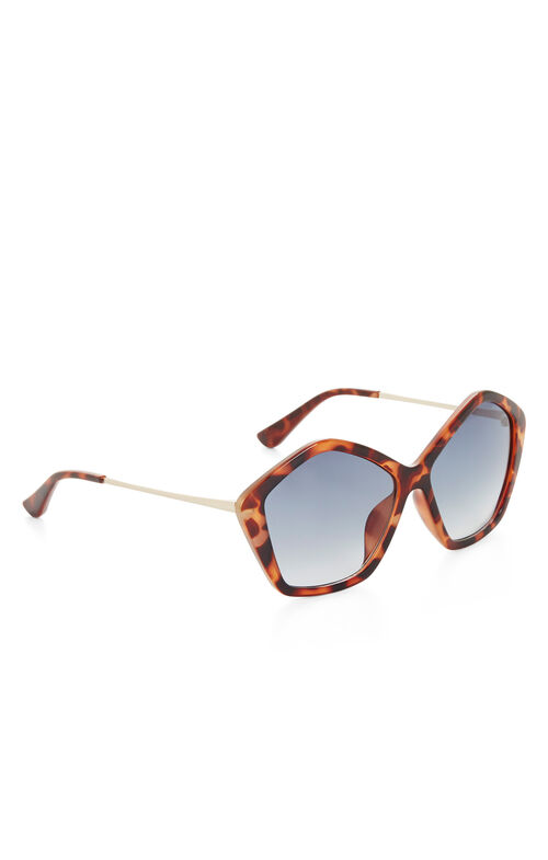 Retro Pentagon Sunglasses
