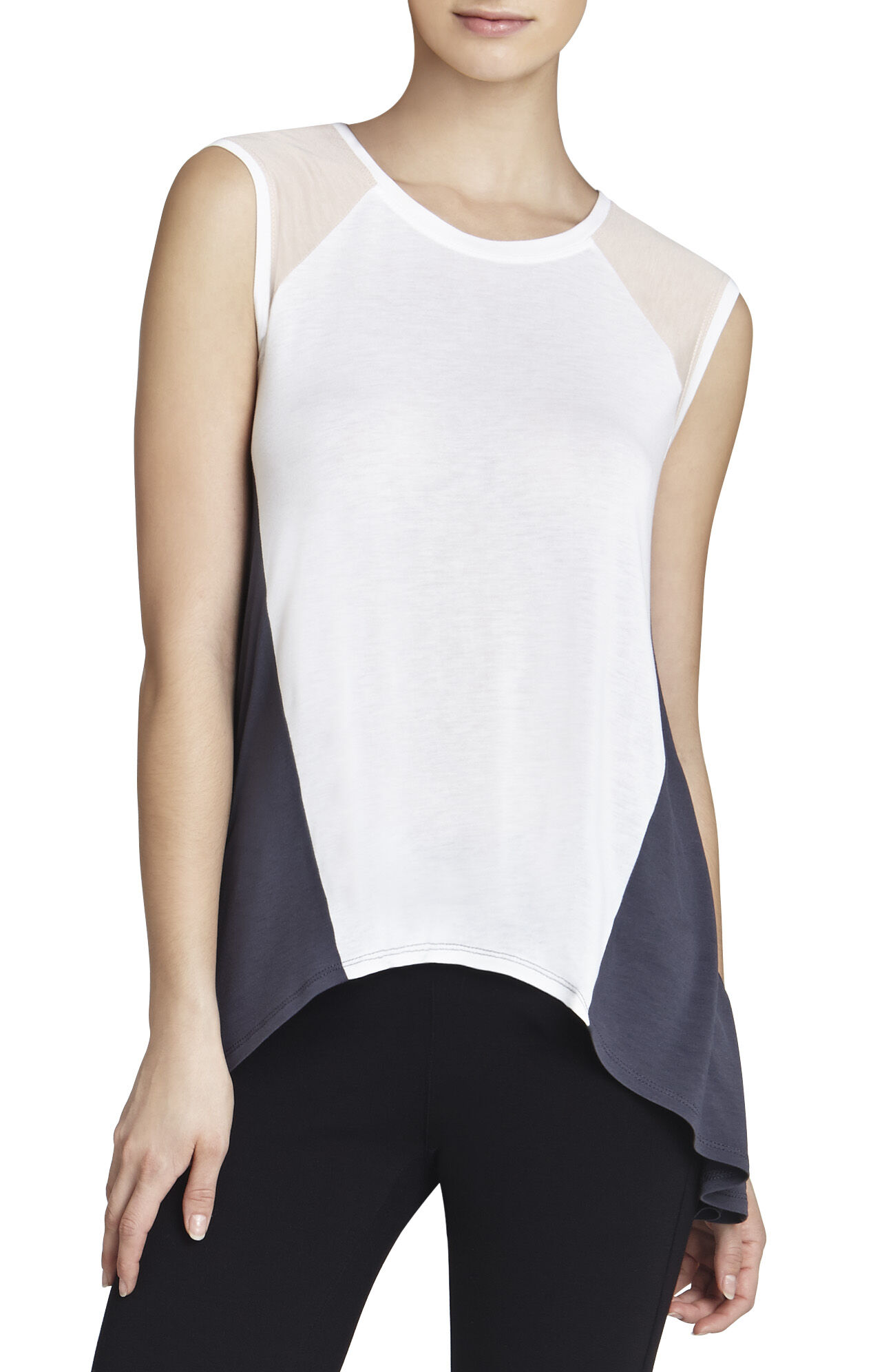 Gabbie Color-Blocked Top