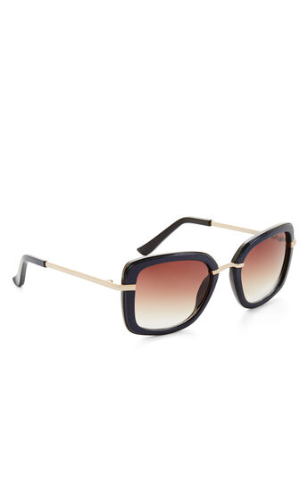 Retro Outline Sunglasses