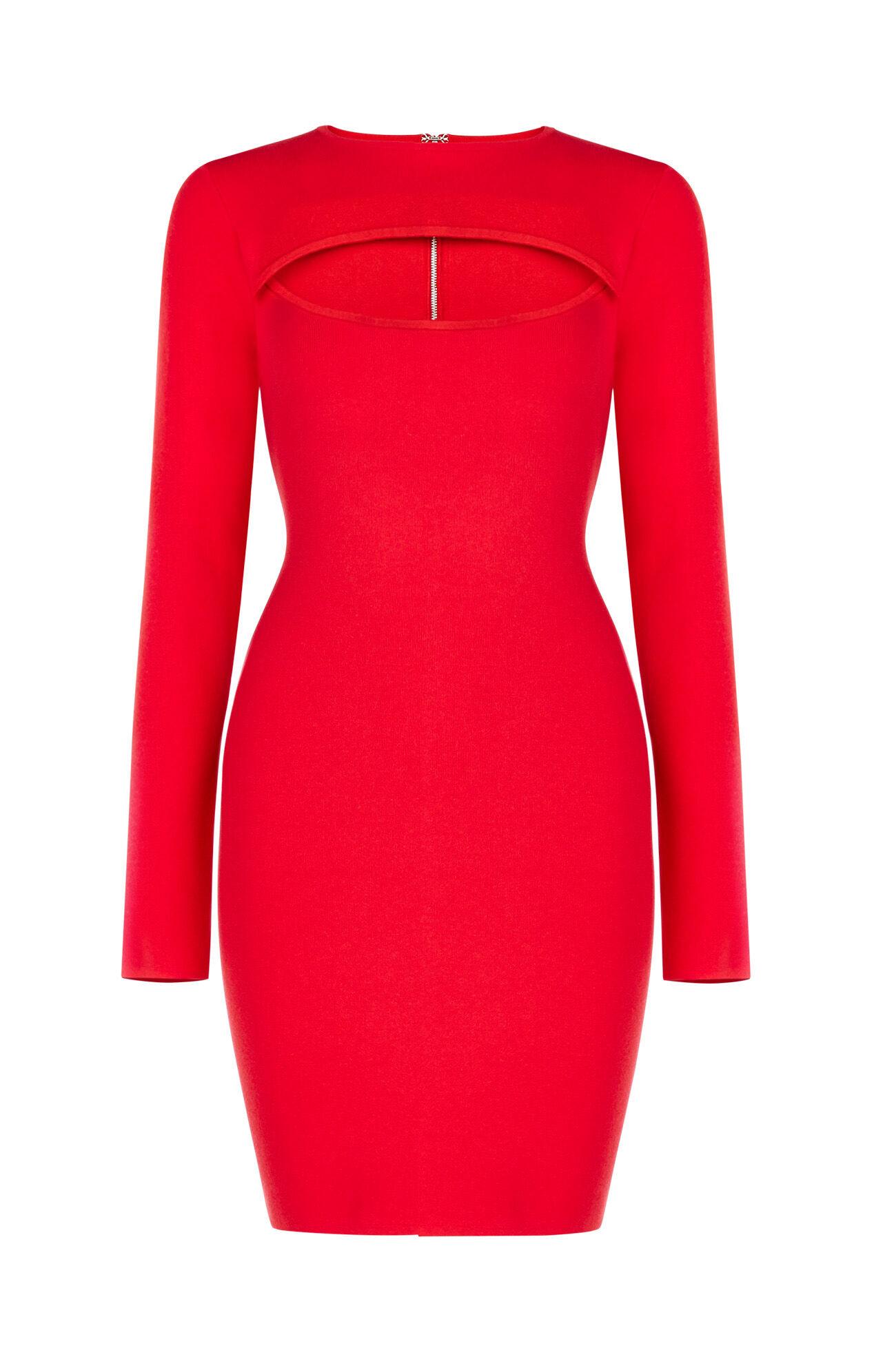 Fyona Long Sleeve Cutout Dress