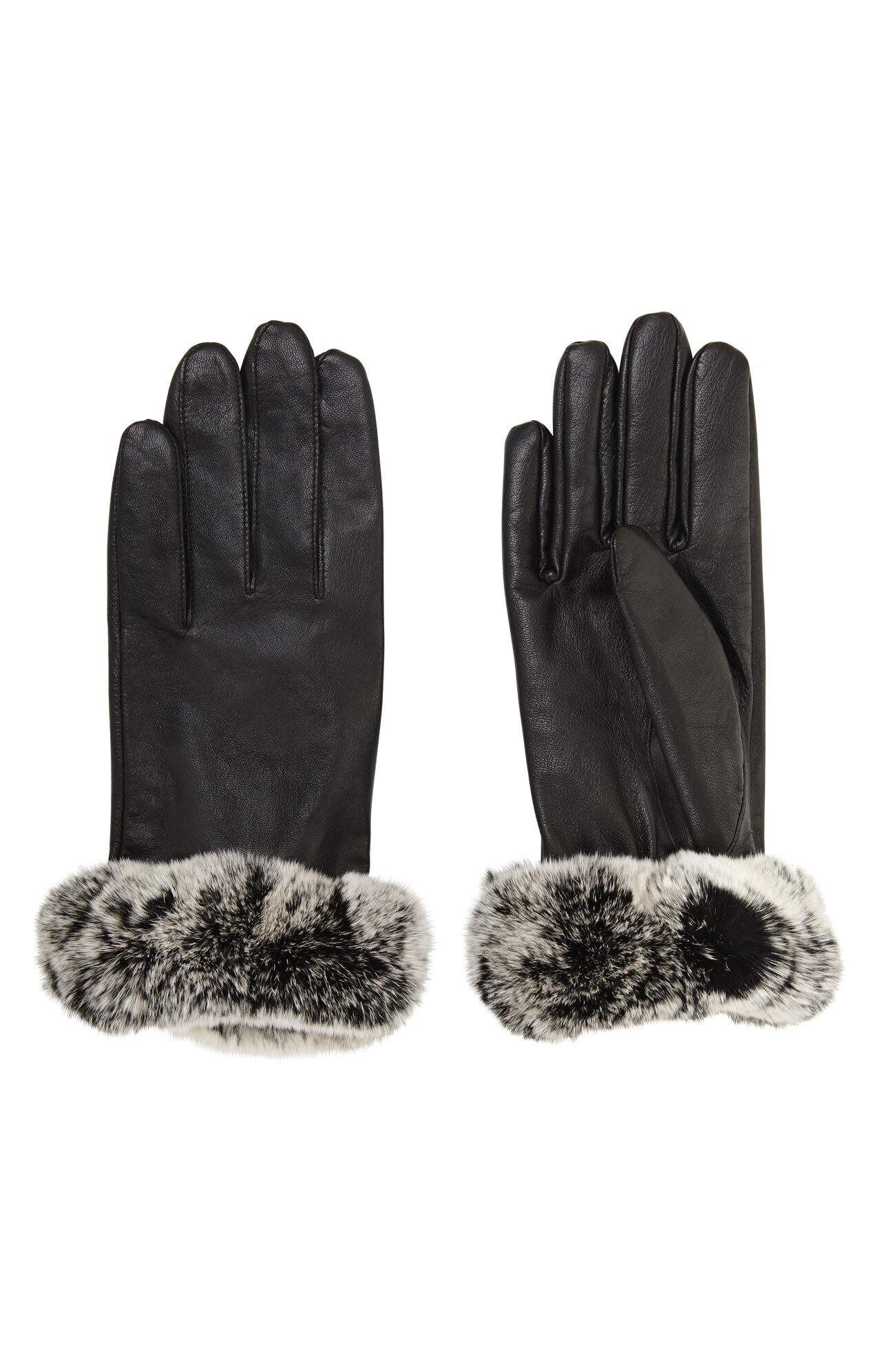 Fur Cuff Gloves