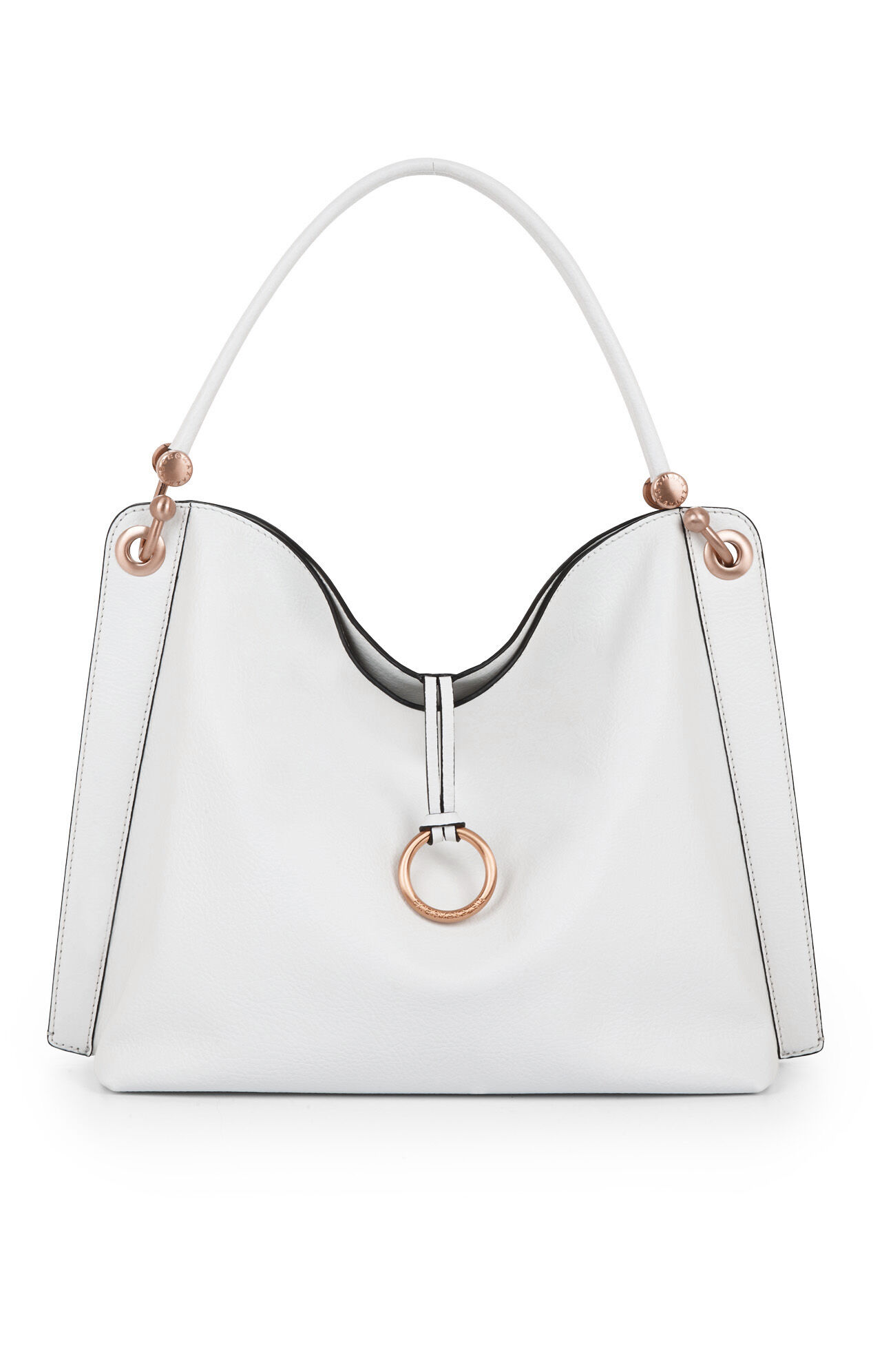 Amelie Beachwood Leather Satchel