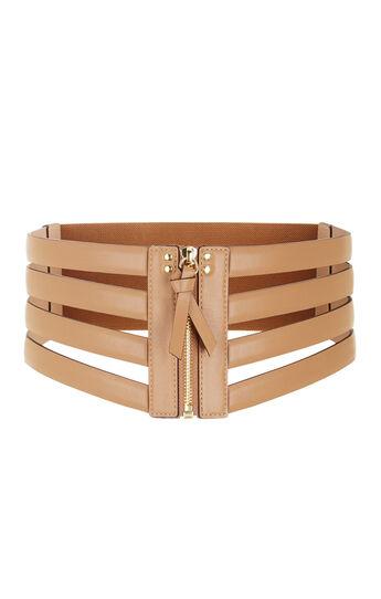 Cage Zip Waist Belt