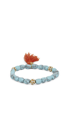 Tassel-Bead Icon Bracelet