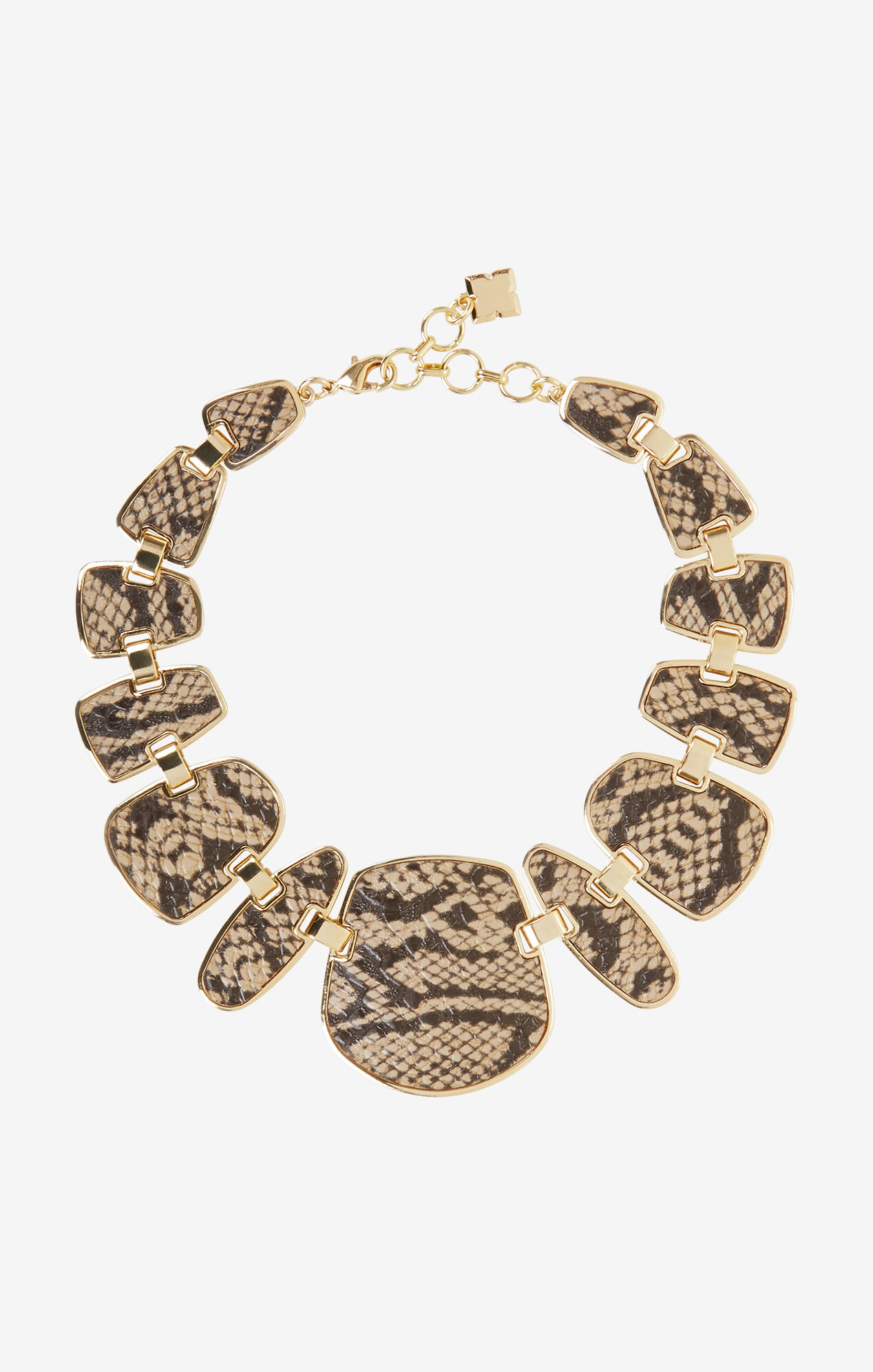 Snake Plated Necklace