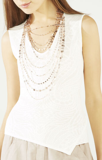 Multi-Layered Novelty Chain Necklace