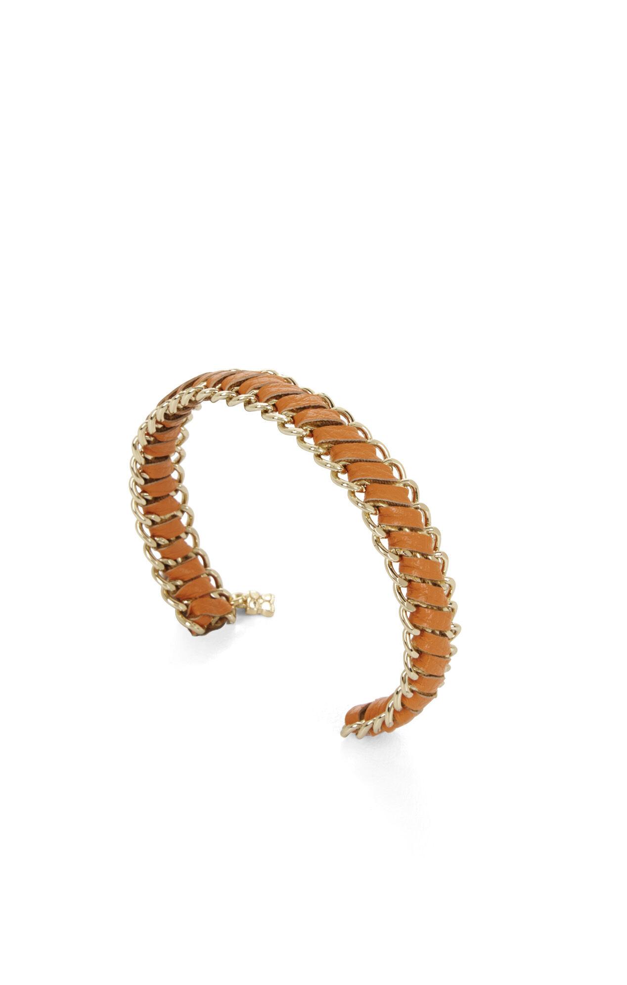 Woven Chain Cuff