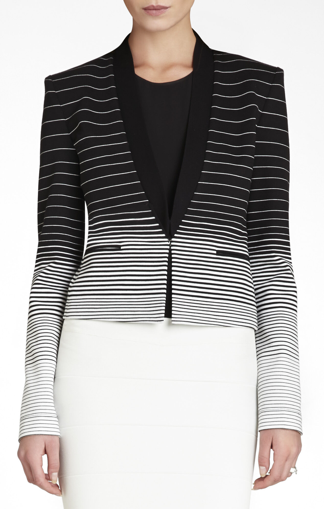 Guy Striped Tuxedo Blazer
