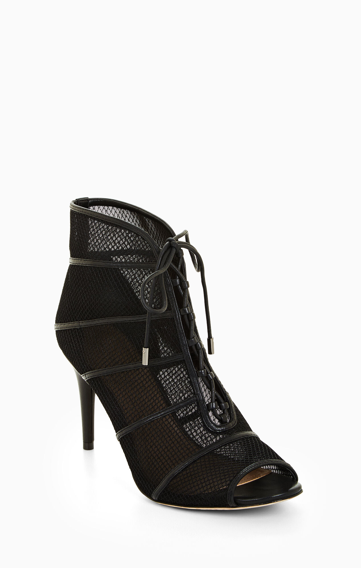 Becks Lace-Up Bootie