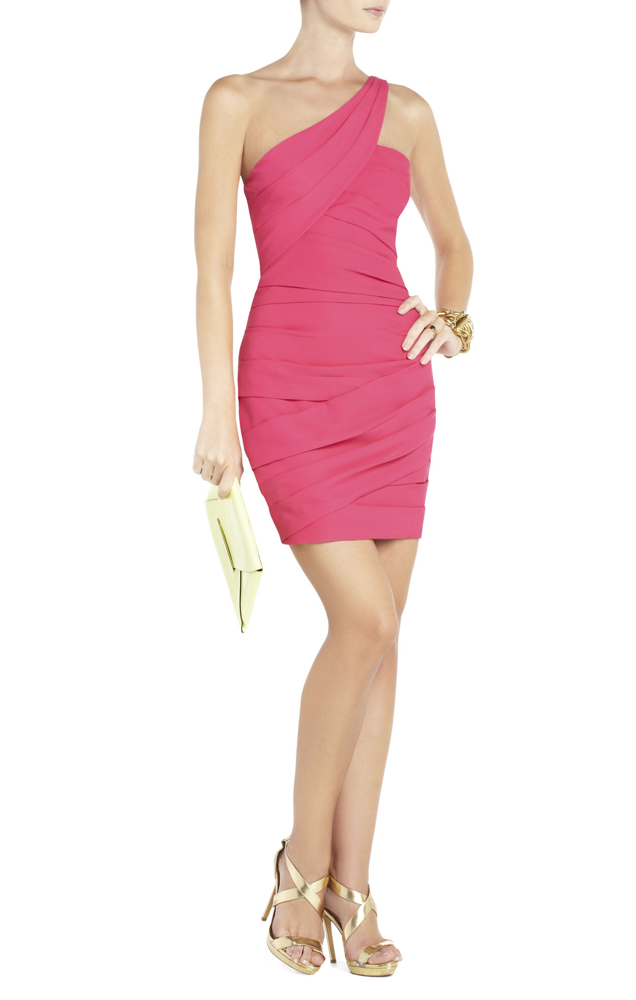 Versa One-Shoulder Cocktail Dress