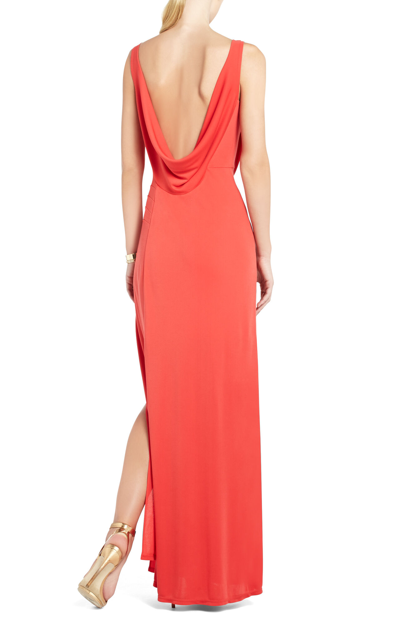 Lena Draped Gown