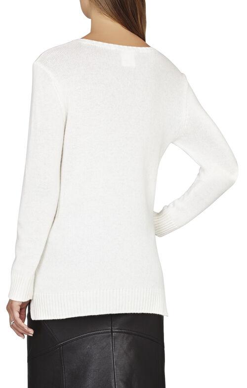 Sheep Intarsia Pullover