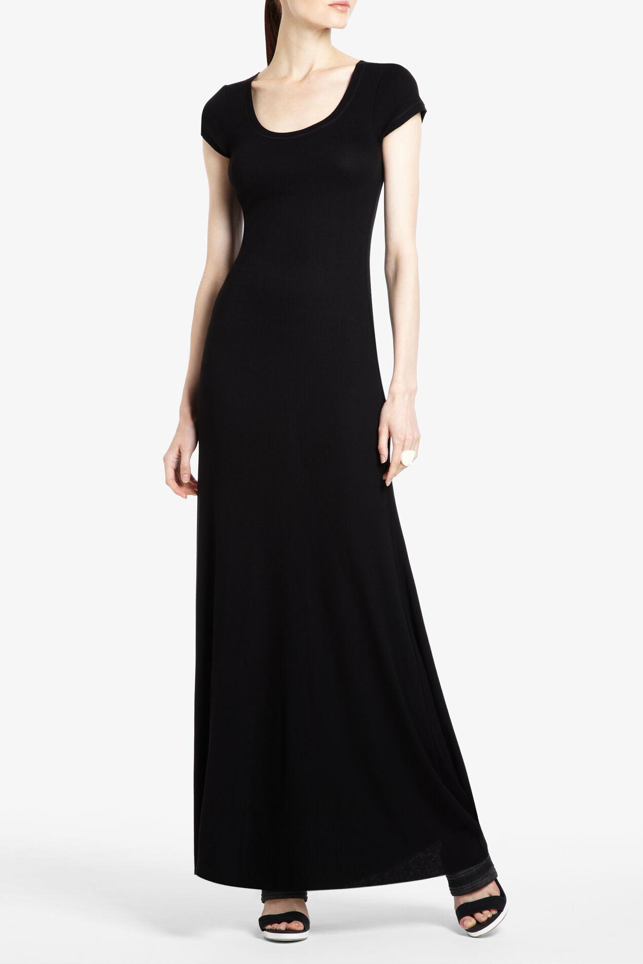 Lexie Short-Sleeve Maxi Dress