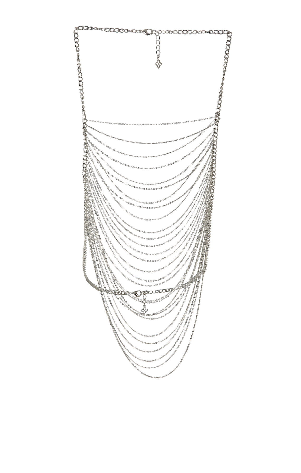 Draped Chain Body-Piece
