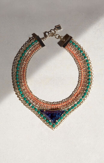 Stone Tribal Necklace