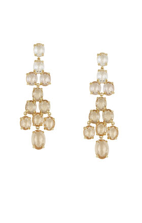 Ombre Statement Earrings