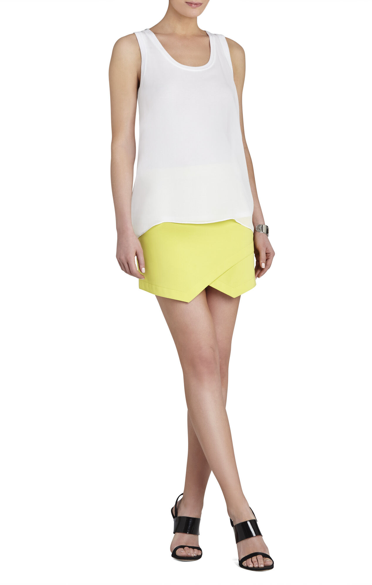 Kaye Layered Drop-Armhole Tank