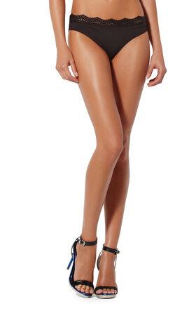 Lace-Trim Bikini Bottom
