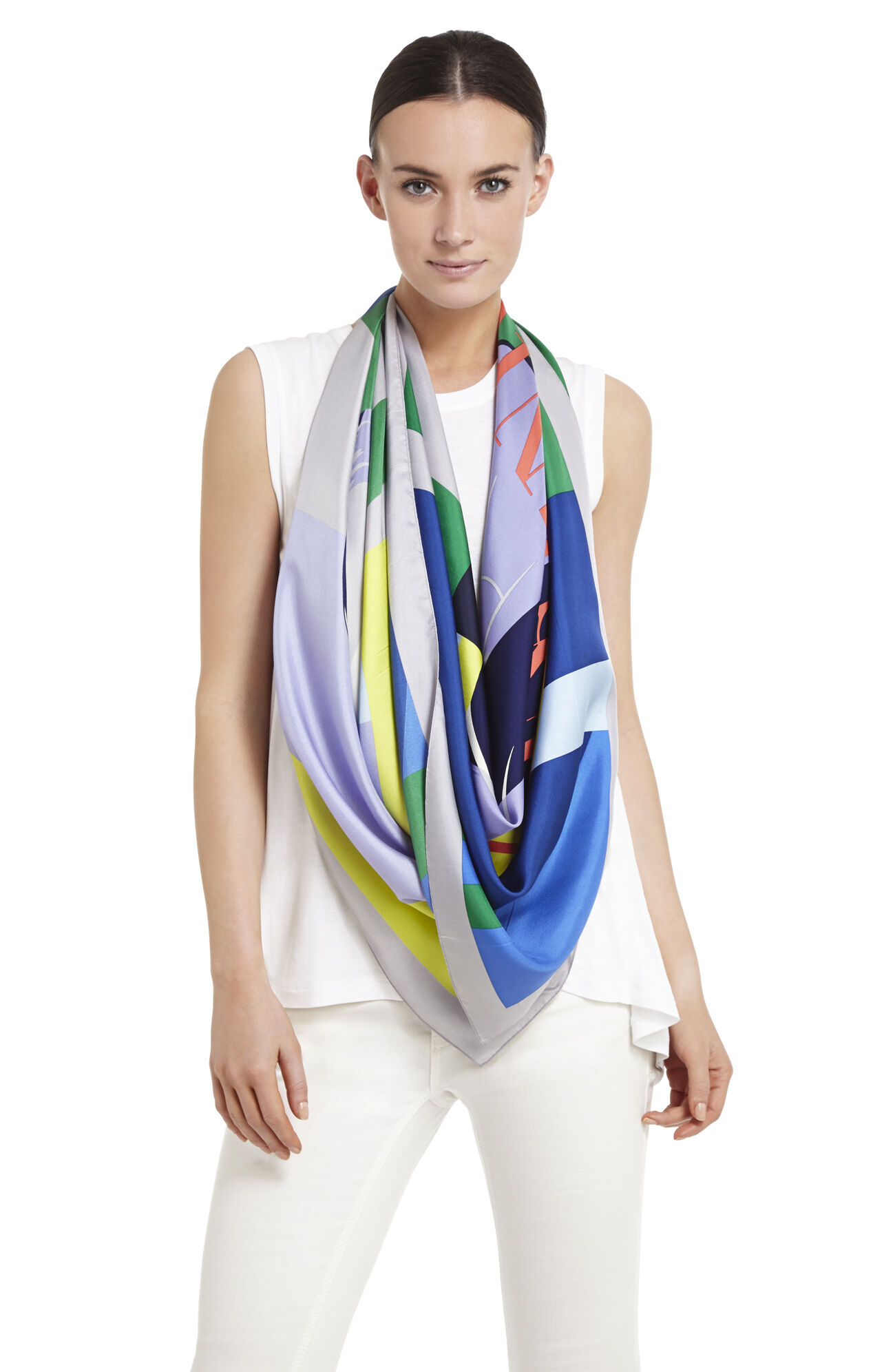 Max Printed Square Scarf