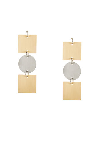 Geometric Plate Earrings