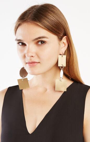 Geometric Plate Earrings