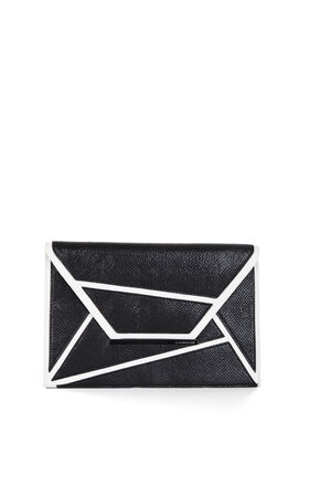 Harlow Geometric Envelope Clutch