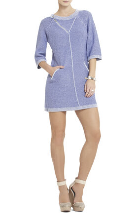 Adrien Zipper Tunic Dress