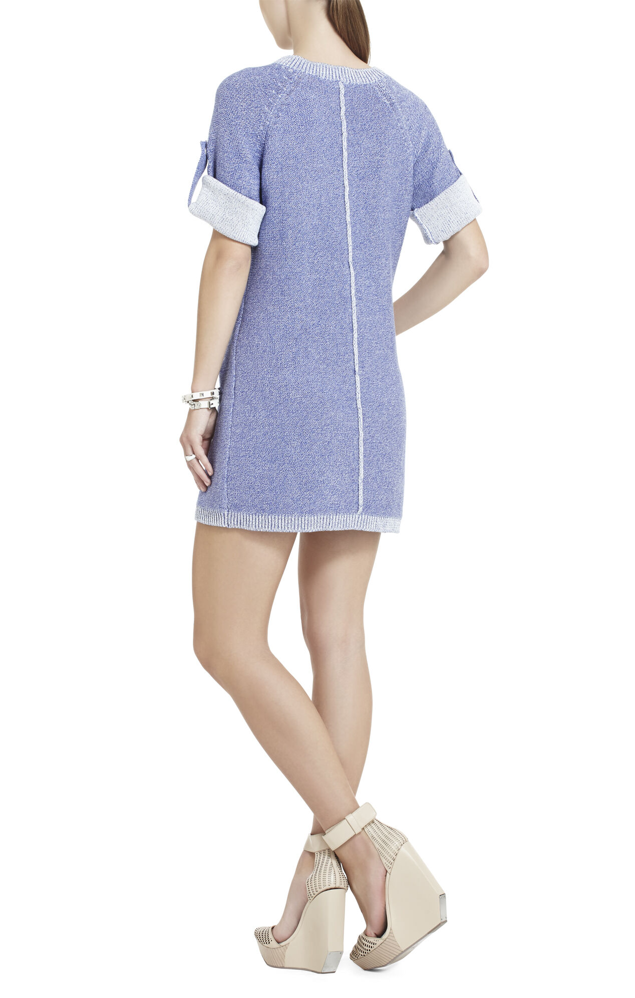 Adrien Zipper Tunic Dress