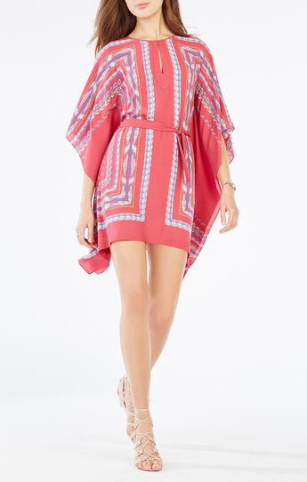 Inesa Tapestry Print Kaftan Dress