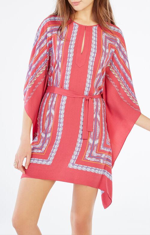 Inesa Tapestry Print Kaftan Dress