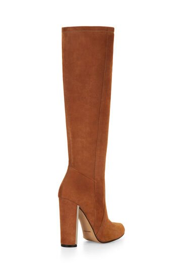 Mirren High-Heel Suede Boots