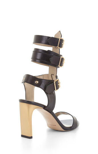 Esperanza High-Heel Leather Sandal