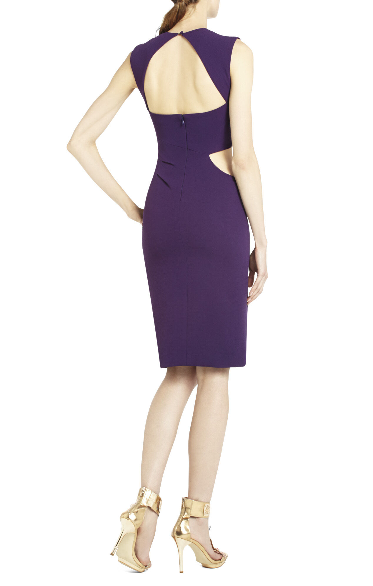 Laura Sleeveless Cutout Dress